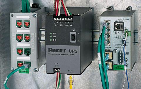 Новый ИБП Panduit рассчитан на работу в диапазоне температур от -40°С до +60°С