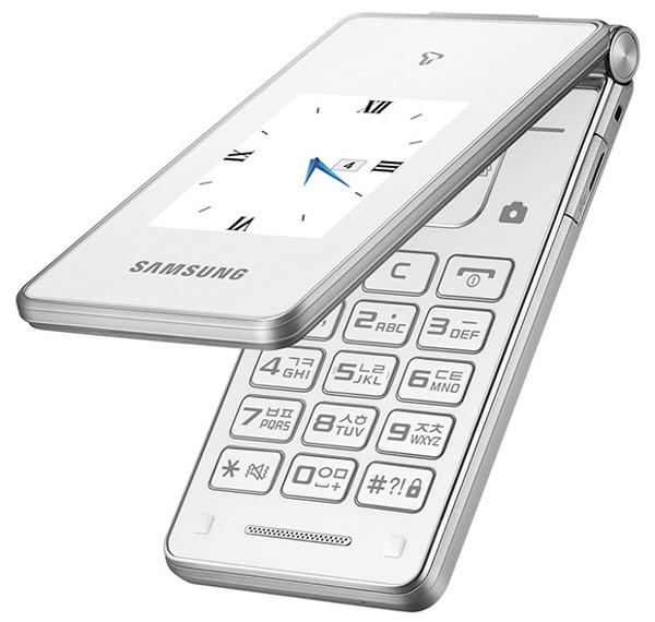 Телефон-раскладушка Samsung Master Dual представлен на южнокорейском рынке
