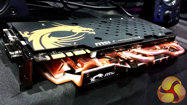 MSI GeForce GTX 970 Gaming Gold Edition