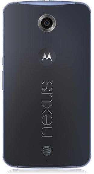 �������� ������ ���������� Nexus 6, ��������������� ��� ��������� AT&T, ����� ����������� ������