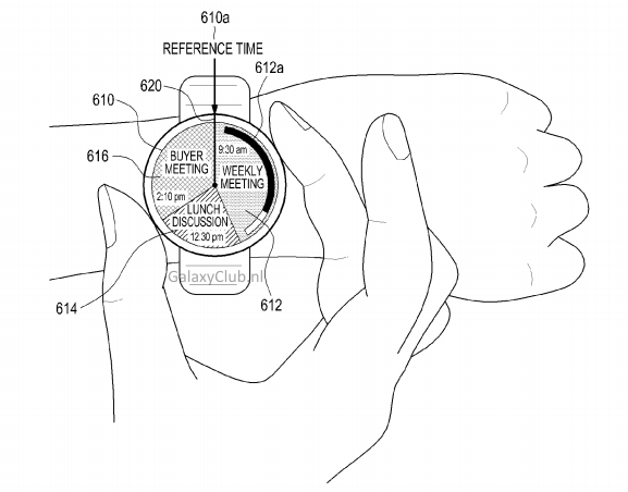 Samsung круглые часы