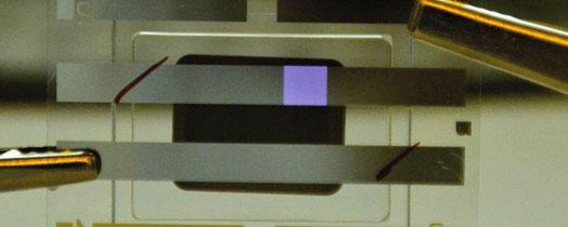 В созданных разработчиками примерах датчиков интегрированы OLED и фотоприемники