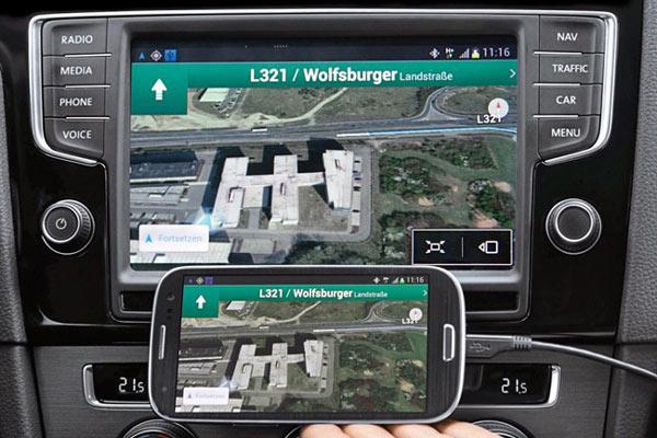 MirrorLink связывает мобильные устройства с бортовыми системами автомобилей