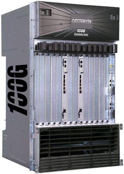 Архитектура QuadStar обеспечивает суммарную пропускную способность 1,6 Тбит/с с заделом на 4 Тбит/с