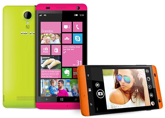 Новый смартфон Blu Win HD