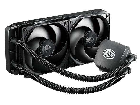 ��� Cooler Master Nepton 120XL � 240M ����� 80 � 95 ���� ��������������