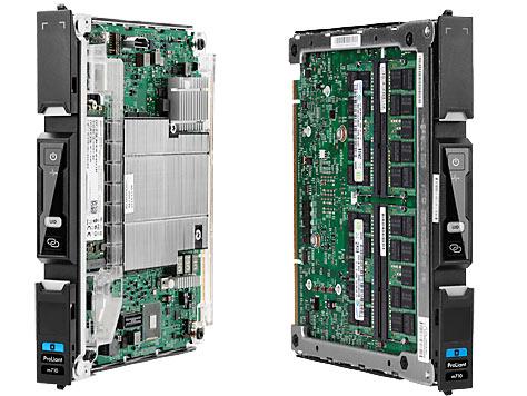 Одновременно представлена модель HP Moonshot ProLiant m350 на процессорах Intel Atom C2730