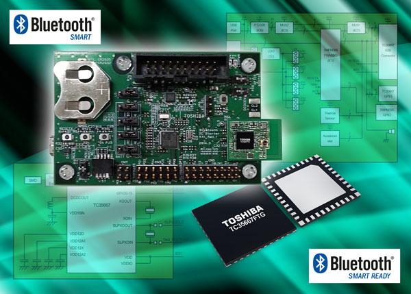 Toshiba предлагает стартовый набор для разработки устройств с поддержкой Bluetooth Low Energy