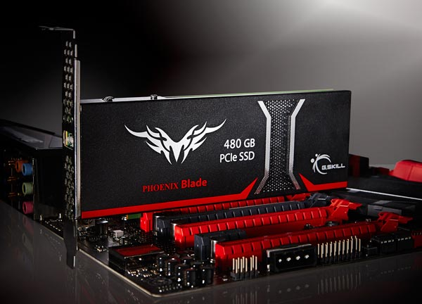 G.Skill Phoenix Blade демонстрирует скорость передачи до 2000 МБ/с