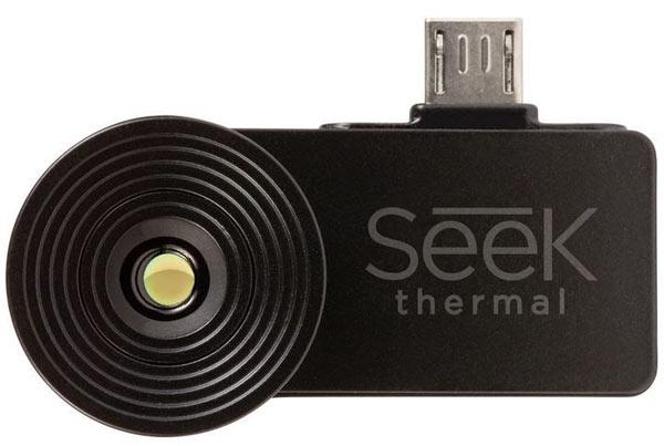 Сенсор тепловизора Seek Thermal имеет разрешение 206 x 156 пикселей
