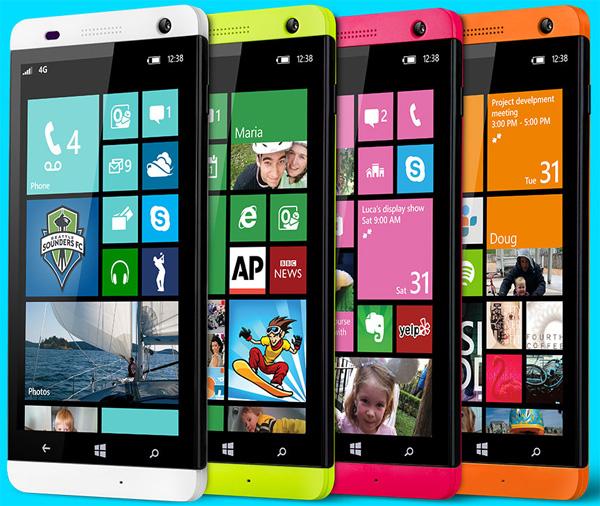 Blu Win HD: стильный смартфон на Windows