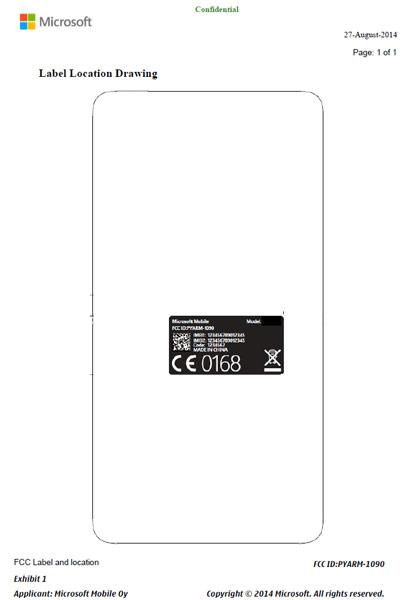 ������������ ������� ��������� Nokia RM-1090 ����� ���������� 540 x 960 ��������