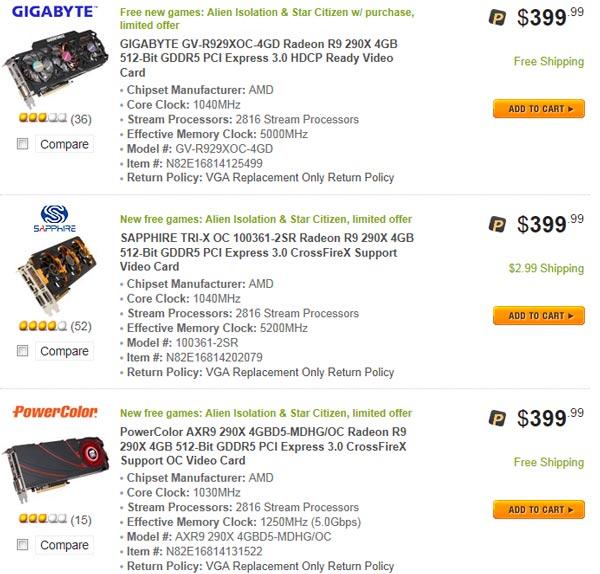 AMD ����������� ������� ���� �� 3D-����� Radeon R9 290 � R9 290X