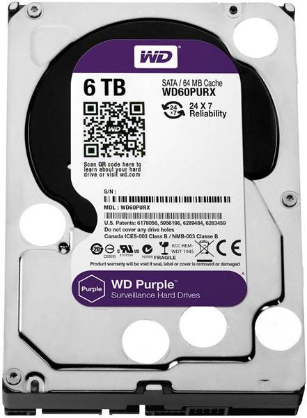 ���������� WD Purple ������� 6 �� ����� �������� � �������, ������� � ����� ������ 2014 ����