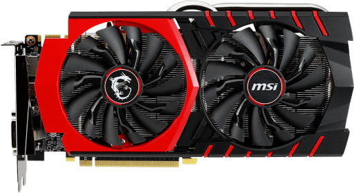 �� 3D-����� MSI GeForce GTX 970 Gaming LE ����������� ������� ���������� TwinFrozr V