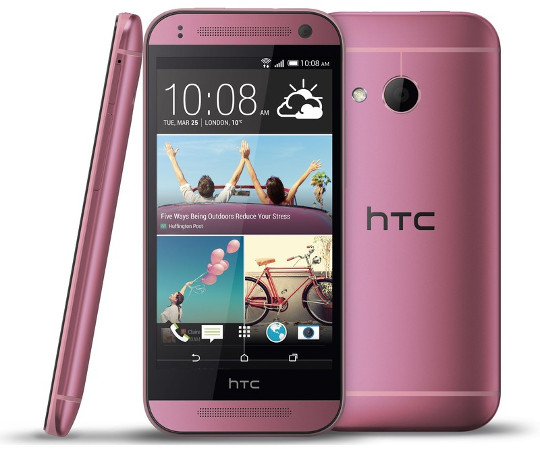 HTC One mini 2 розовый
