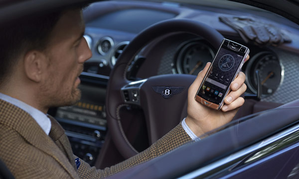 Смартфон Vertu for Bentley оценен в 12 500 евро
