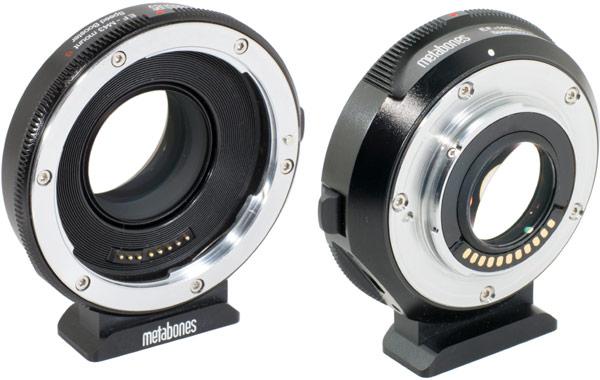 ����� ������ �������� Metabones Canon EF Speed Booster S ���������� � �������� Olympus OM-D