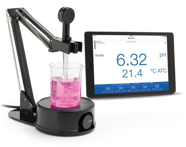Hanna Instruments Halo — первый в мире измеритель pH с интерфейсом Bluetooth Smart
