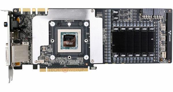 Разогнанная производителем 3D-карта Colorful GeForce GTX 980 iGame имеет 14-фазную подсистему питания