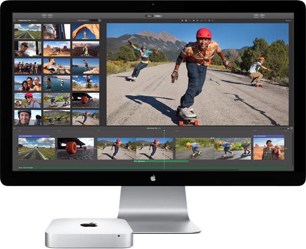 Компьютеры Apple Mac mini поставляются с операционной системой OS X Yosemite