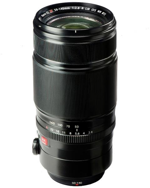 Объектив Fujinon XF50-140mmF2.8 R LM OIS WR имеет всепогодное исполнение