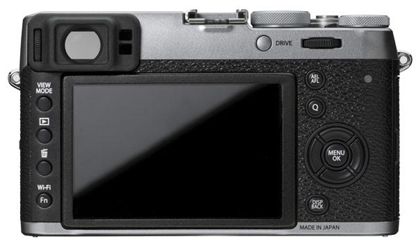 Камера Fujifilm X100T оснащена первым в мире цифровым дальномером