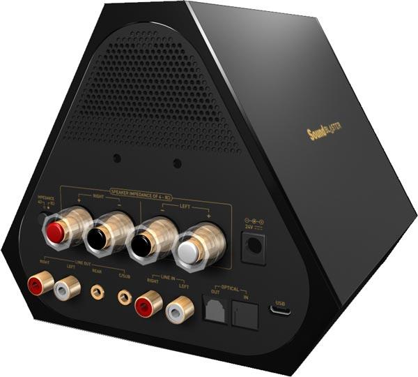 Sound Blaster X7 — самая большая внешняя звуковая карта Creative