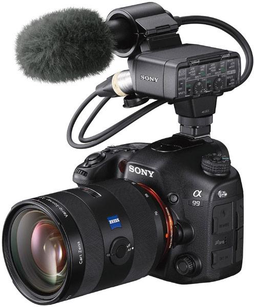 Набор для записи звукового сопровождения при видеосъемке XLR-K2M XLR, в состав которого входит микрофон ECM-XM1
