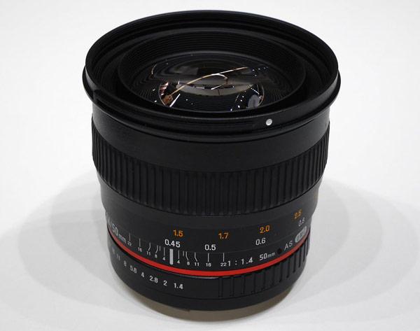 Объектив Samyang 50mm f/1.4 AS UMC будет стоить около $500