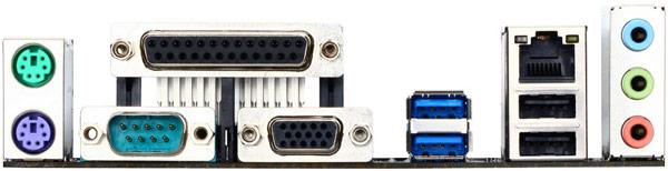 Плата Gigabyte H81M-WW имеет всего один видеовыход