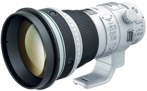Продажи объективов Canon EF 400mm f/4 DO IS II USM и EF-S 24mm f/2.8 STM должны начаться в ноябре, EF 24-105mm f/ 3.5-5.6 IS STM - в декабре