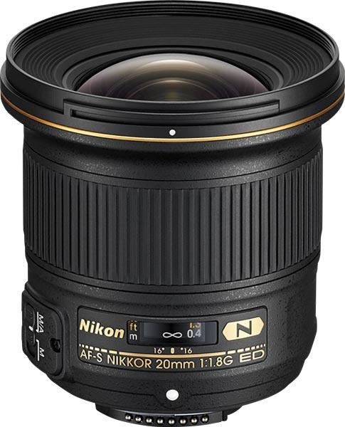 Продажи AF-S Nikkor 20mm f/1.8G ED начнутся в конце этого месяца по цене $800