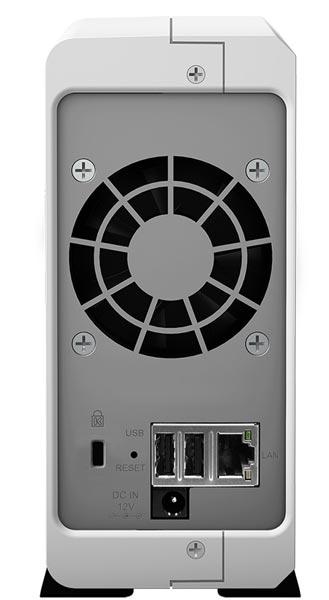 NAS Synology DS115j работает под управлением ОС DiskStation Manager (DSM) 5.0