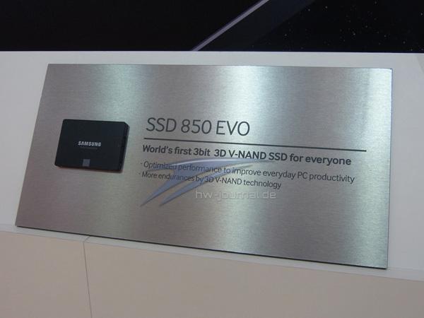 Samsung готовит линейку SSD 850 Evo