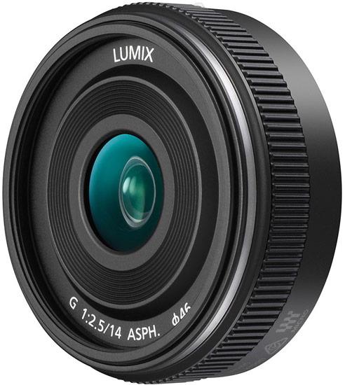Объектив Panasonic Lumix G 14mm / F2.5 II ASPH. (H-H014A) предназначен для камер системы Micro Four Thirds