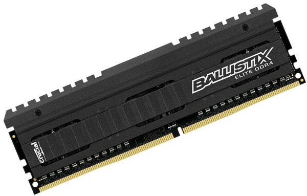 Модули Crucial DDR4 и Ballistix Sport DDR4 выпускаются объемом до 8 ГБ и комплектами объемом до 32 ГБ