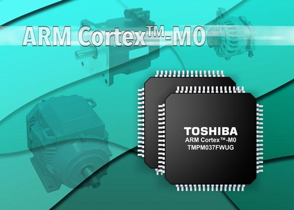 Микроконтроллер Toshiba TMPM037FWUG производится в корпусе LQFP64