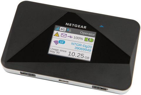 Мобильная точка доступа Netgear AirCard 785 поддерживает два диапазона Wi-Fi