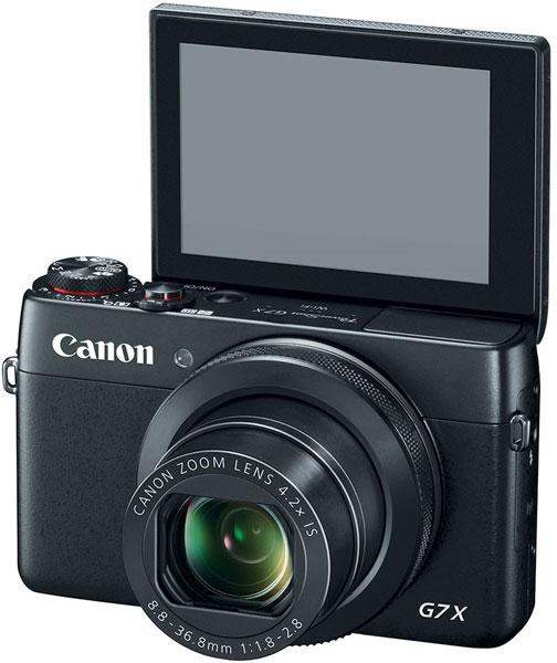 Продажи Canon PowerShot G7 X начнутся в октябре по цене $700
