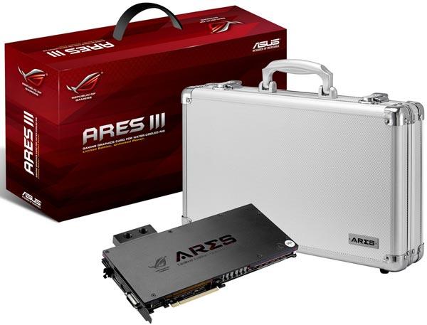 ��������, ������� �������� ����� Asus ROG Ares III, ���������� ��������� EK Water Blocks