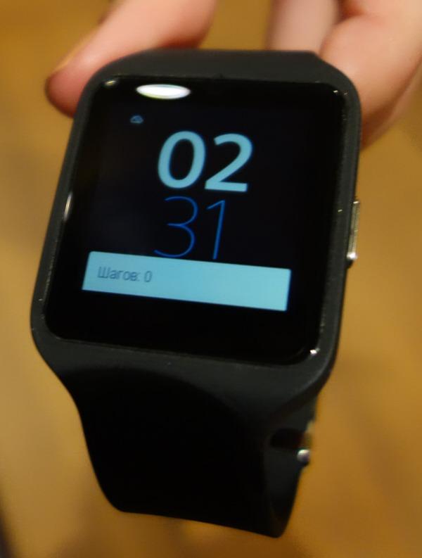 ����� ���� Sony Smart Watch 3