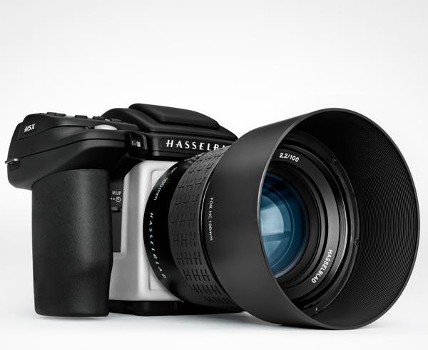 Камера Hasselblad H5X полностью совместима с объективами Hasselblad H System