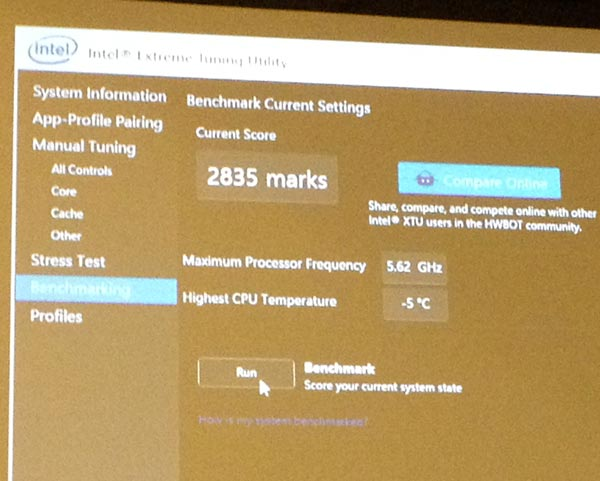 На IDF 2014 компания Intel рассказала о разгоне своих процессоров и показала, как это делается