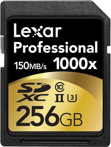 �������� Lexar Professional 2000x ����� $185 �� ������� ������� 64 �� � $106 �� ������� ������� 32 ��