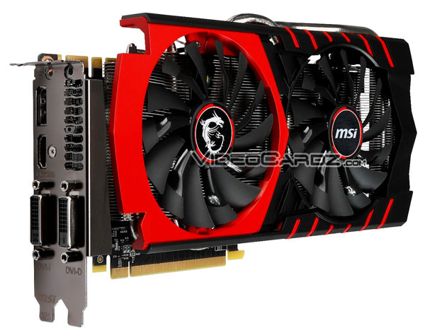 3D-карта MSI GeForce GTX 970 Gaming