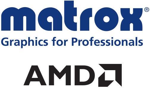Matrox и AMD, когда-то соперничавшие на рынке 3D-карт, стали партнерами