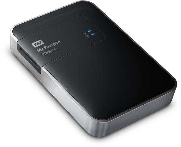 Внешний накопитель My Passport Wireless увеличивает доступный объём памяти мобильных устройств