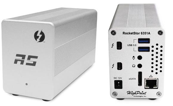 �������� HighPoint RocketStor 6351A � 17,8 � 10,2 � 7,6 ��