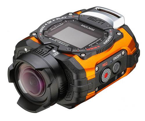 Основой камеры Ricoh WG-M1 послужит датчик типа CMOS формата 1/2,3 дюйма